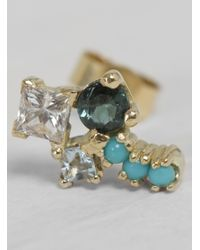 Michelle Oh - Multicolor Small Mischmasch Stud Earring - Lyst