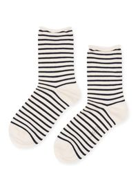Hansel From Basel - Multicolor Nautical Stripe Sock - Lyst