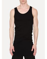 Boris Bidjan Saberi 11 - Black Tank Top for Men - Lyst