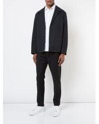 Stephan Schneider - White Cotton Poplin Shirt Flag for Men - Lyst