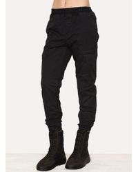 Yeezy - Black Onyx Pitch Cotton Workwear Pant - Lyst