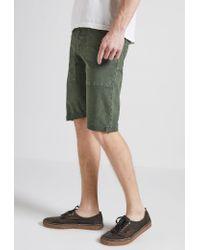 Current/Elliott | Green Standard Issue Short for Men | Lyst