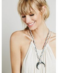 Free People | Multicolor Gamma Folk Womens Sun Ray Necklace | Lyst