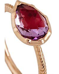 Larkspur & Hawk - Metallic Bella Rose Gold Amethyst Ring - Lyst