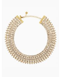 kate spade new york | Metallic Vegas Jewels Multi Strand Necklace | Lyst
