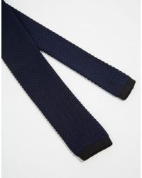 Minimum | Blue Knitted Tie for Men | Lyst