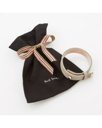 Paul Smith | Natural Women's Taupe Leather Bracelet | Lyst