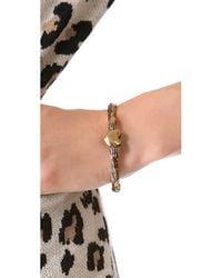 Pamela Love - Metallic Aeternum Cuff Bracelet - Bronze - Lyst