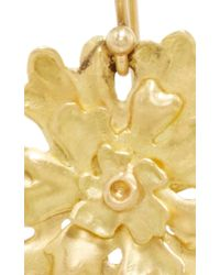 Annette Ferdinandsen - Metallic Small Lichen Earring - Lyst