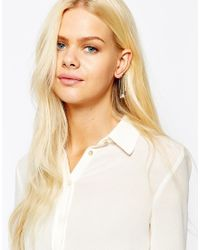 Orelia - Metallic Relia Charm Drop Ear Cuff - Lyst