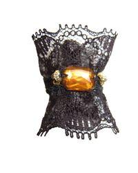 Velvet Eccentric - Black Victoriana Ring - Lyst