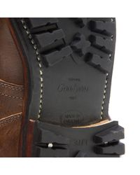 Viberg - Brown Service Leather Ankle Boots for Men - Lyst