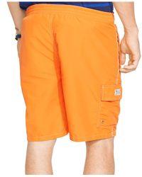 Polo Ralph Lauren | Orange Kailua Swim Trunks for Men | Lyst