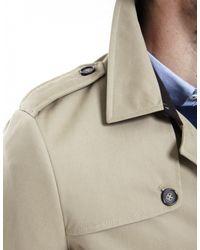 Jules B - Natural Trench Coat for Men - Lyst