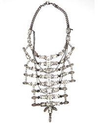 Emanuele Bicocchi - Metallic Jeweled Necklace - Lyst