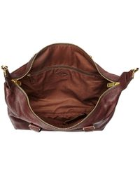Fossil | Brown Preston Large Satchel | Lyst