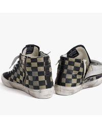 James Perse - Black Golden Goose Slide Sneaker - Mens for Men - Lyst