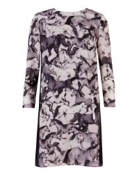 Ted Baker - Pink Paisley Toucan Tunic Dress - Lyst