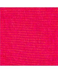 Paul Smith - Women's Red Striped Fluffy Mohair-cashmere Socks - Lyst