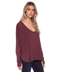 Feel The Piece - Red Robin V Neck - Lyst