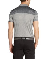BOSS Green | Gray Regular-fit Golf Polo Shirt 'pavel' In Cotton for Men | Lyst