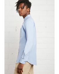 Forever 21 - Blue Classic School Uniform Shirt You've Been Added To The Waitlist for Men - Lyst
