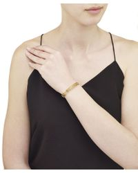 Arme De L'Amour | Metallic Set Of 3 Bamboo Bracelets | Lyst