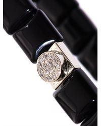Luis Morais | Black Diamond Onyx and Whitegold Bracelet for Men | Lyst