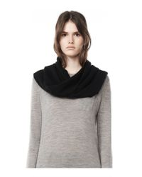 Alexander Wang | Black Cashmere Endless Scarf | Lyst