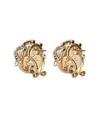 Lulu Frost | Metallic Oleander Earrings | Lyst