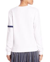 Opening Ceremony - White Kennel Club Sweatshirt - Lyst