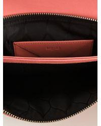 KENZO - Pink '' Flap Clutch - Lyst