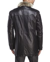 Marc New York - Black Stuyvesant Leather Jacket for Men - Lyst