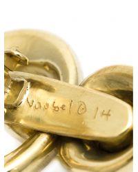 Vaubel | Metallic Interlocking Hoop Clip Earrings | Lyst