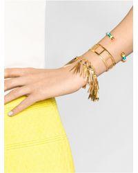 BaubleBar | Metallic Miley Tassel Bracelet Trio | Lyst