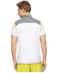 Calvin Klein | White Performance Colorblocked Full-zip Running Vest for Men | Lyst