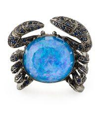 Stephen Webster | Blue 'jewels Verne' Crab Ring | Lyst