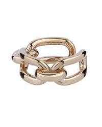 Balenciaga | Metallic Chain-Link Ring | Lyst