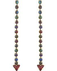 Erickson Beamon | Multicolor Hyperdrive Earrings | Lyst