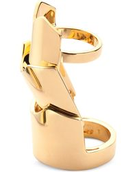 Eddie Borgo | Metallic Hinged-plate Ring | Lyst