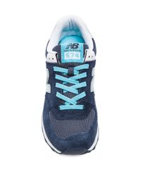 New Balance - Core Plus Collection Sneaker in Blue - Lyst