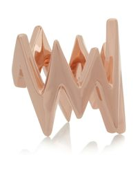 Jennifer Fisher | Pink Pulse Rose Gold-Plated Ring | Lyst