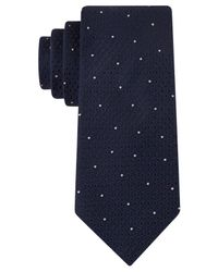 Kenneth Cole Reaction | Blue Pebble Neat Slim Tie for Men | Lyst