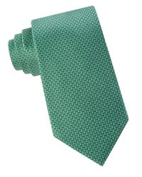 MICHAEL Michael Kors Green Printed Silk Tie for men