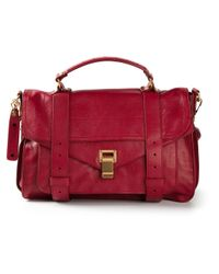 Proenza Schouler - Red Medium 'Ps1' Satchel - Lyst