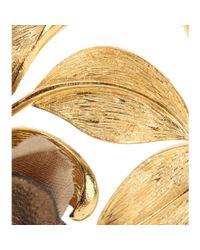 Dolce & Gabbana | Metallic Embellished Clip-on Earrings | Lyst