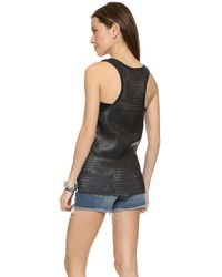 Love Leather - Nets Slam Dunk Tank - Black - Lyst