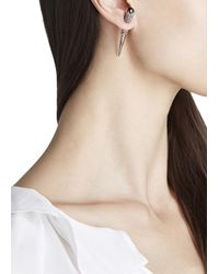 Katie Rowland | Pink Carmilla Stake 18Kt Rose Gold Vermeil Earrings | Lyst