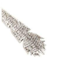 Eddie Borgo - Metallic Plume Earrings. - Lyst
