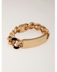 Luv Aj - Metallic Id Bracelet - Lyst